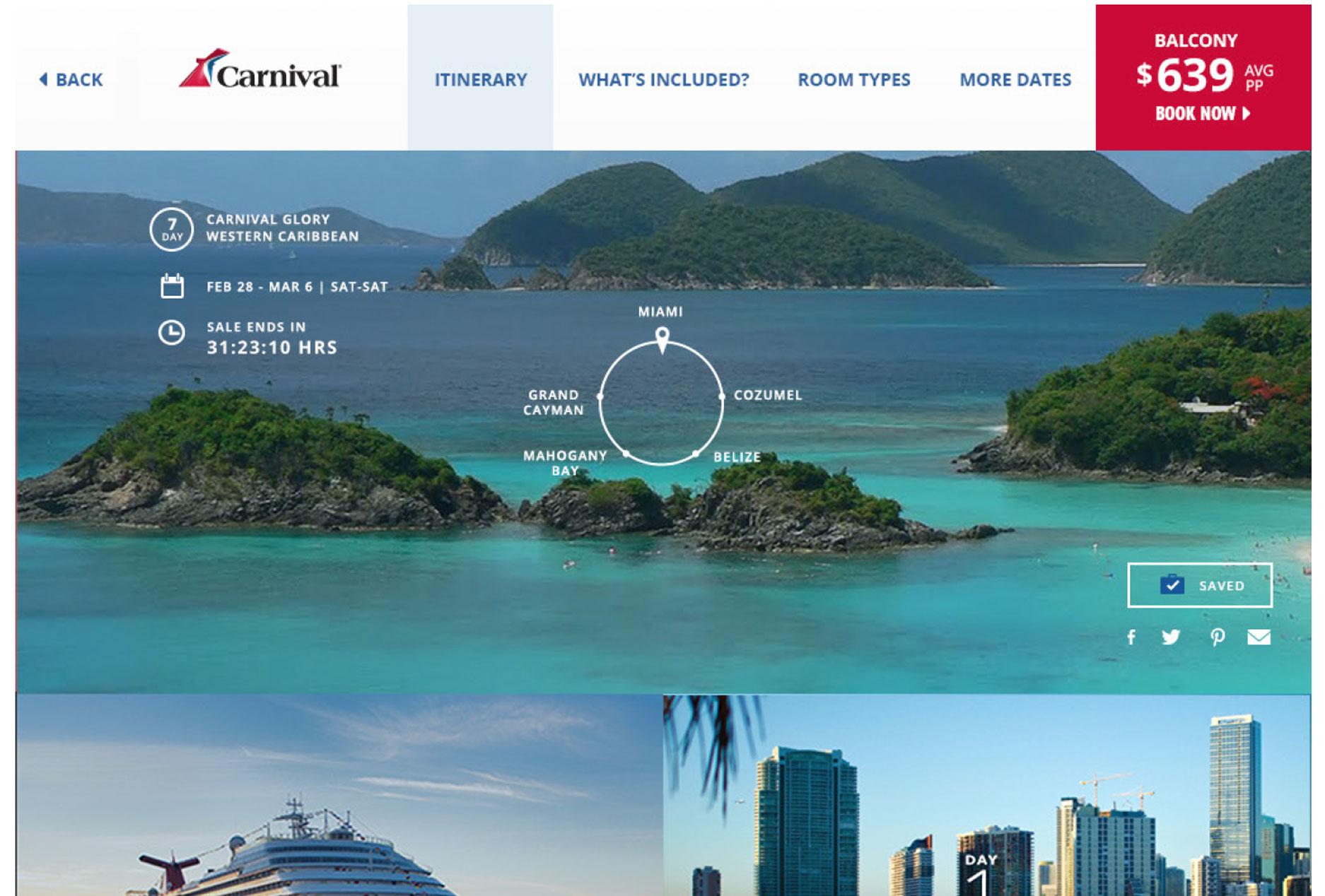 Cruise-Details